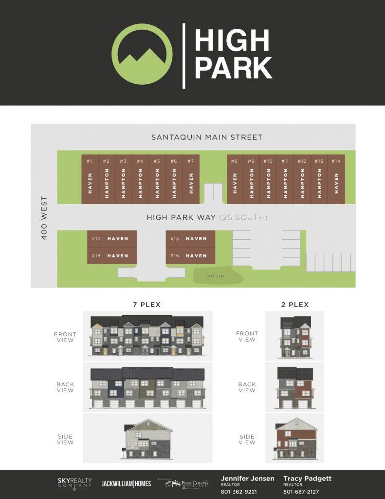 High Park Plat Map