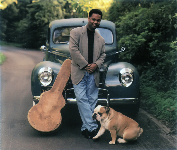 Earl Klugh with Dog