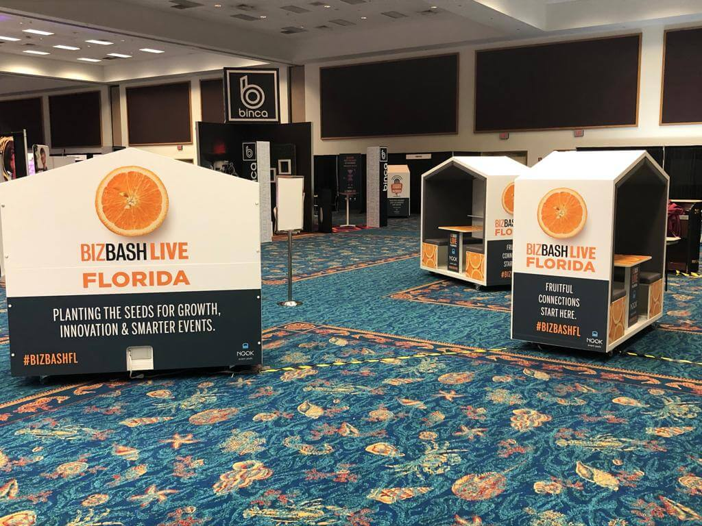 Nook Event Pods: Corporate Sponsorship Opportunities that Drive Revenues and Attendance