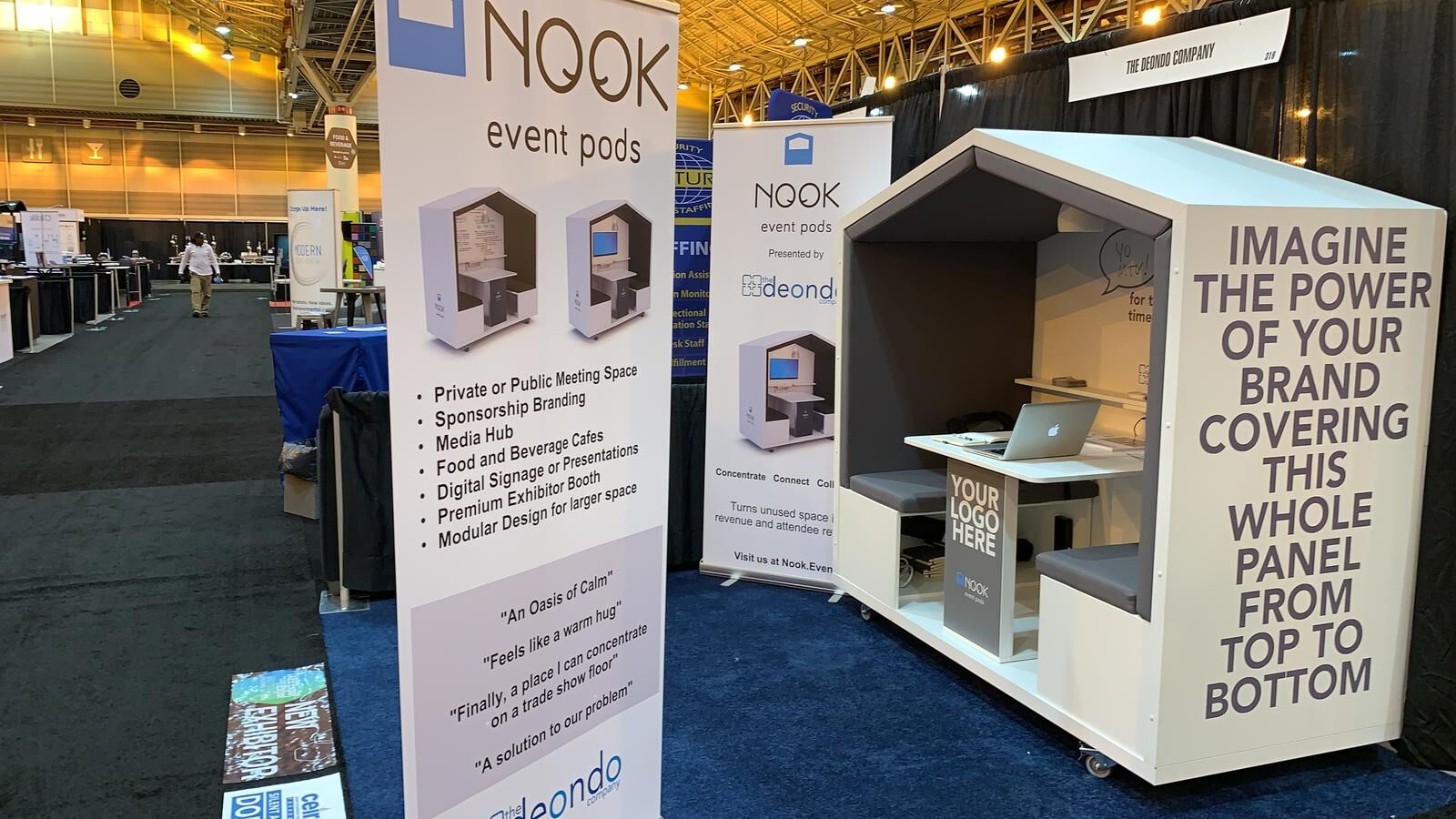 Nook Event Pods Receive IAEE's 2019 Innovative Business Solution Award