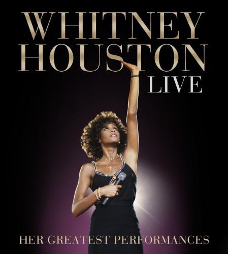 Whitney Houston Live CD DVD