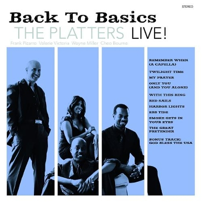 The Platters Live - Back to Basics
