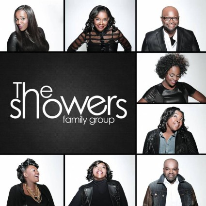 The Showers Family Group CD Cover 2015