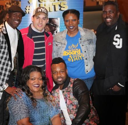 eOne Music Hosts Billboard #1 Gospel Hits album celebration in DC-RickyDillard,GabriellaJones,VaShawnMitchell,WilliamMcDowell
