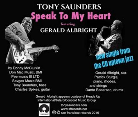 Tony Saunders - Speak To My Heart
