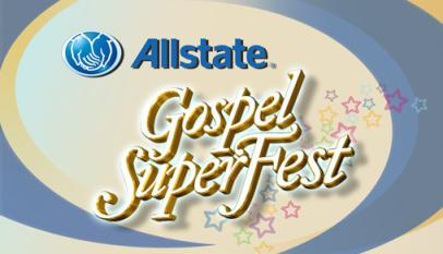 Allstate Gospel SuperFest logo