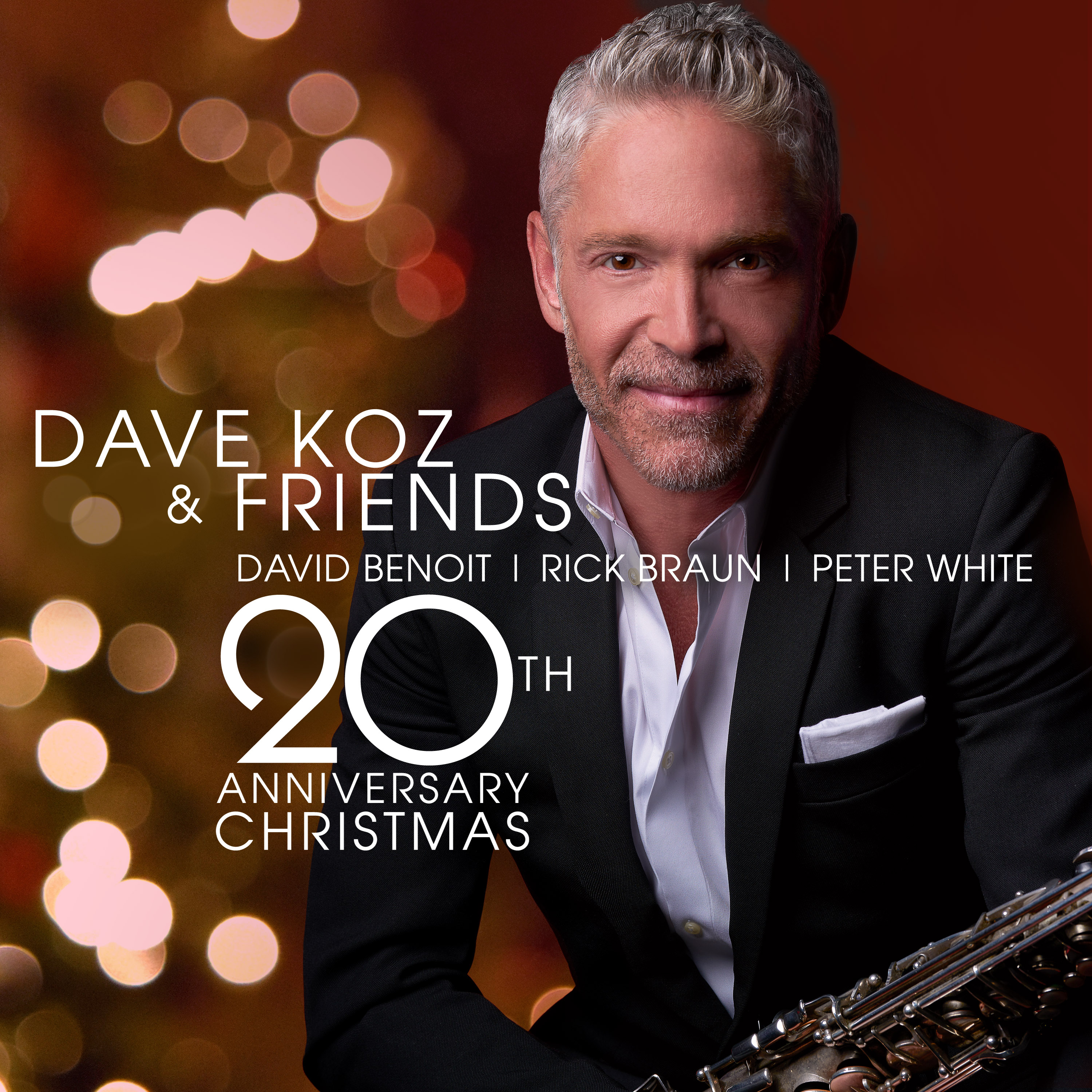"""Saxophonist Dave Koz to Release New Holiday Album """"Dave Koz and"""