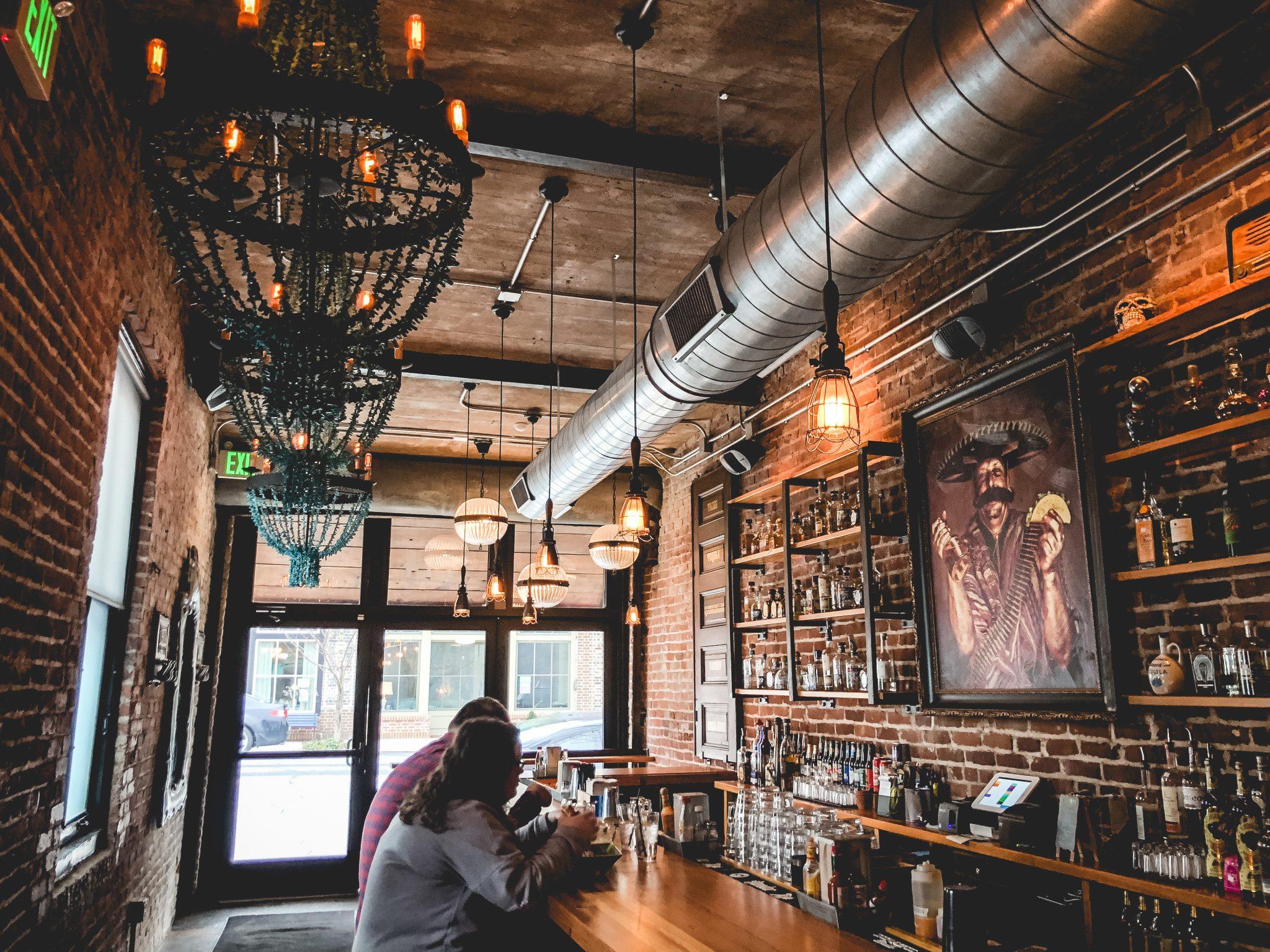commercial bar lighting