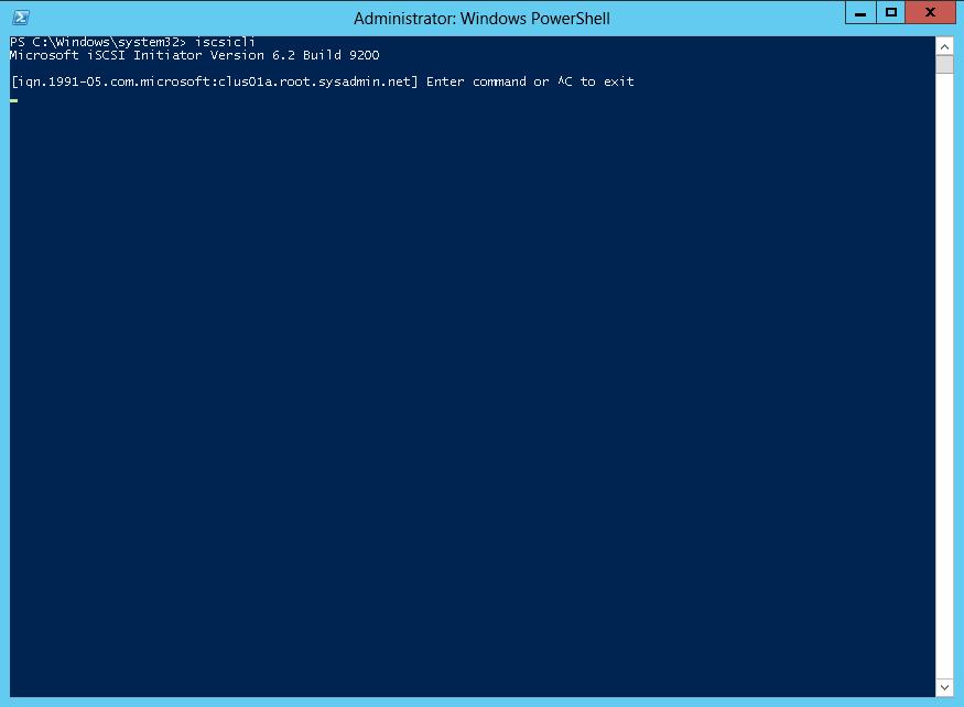 Microsoft Windows Server 2012 - Identify an ISCSI Initiator IQN - 00
