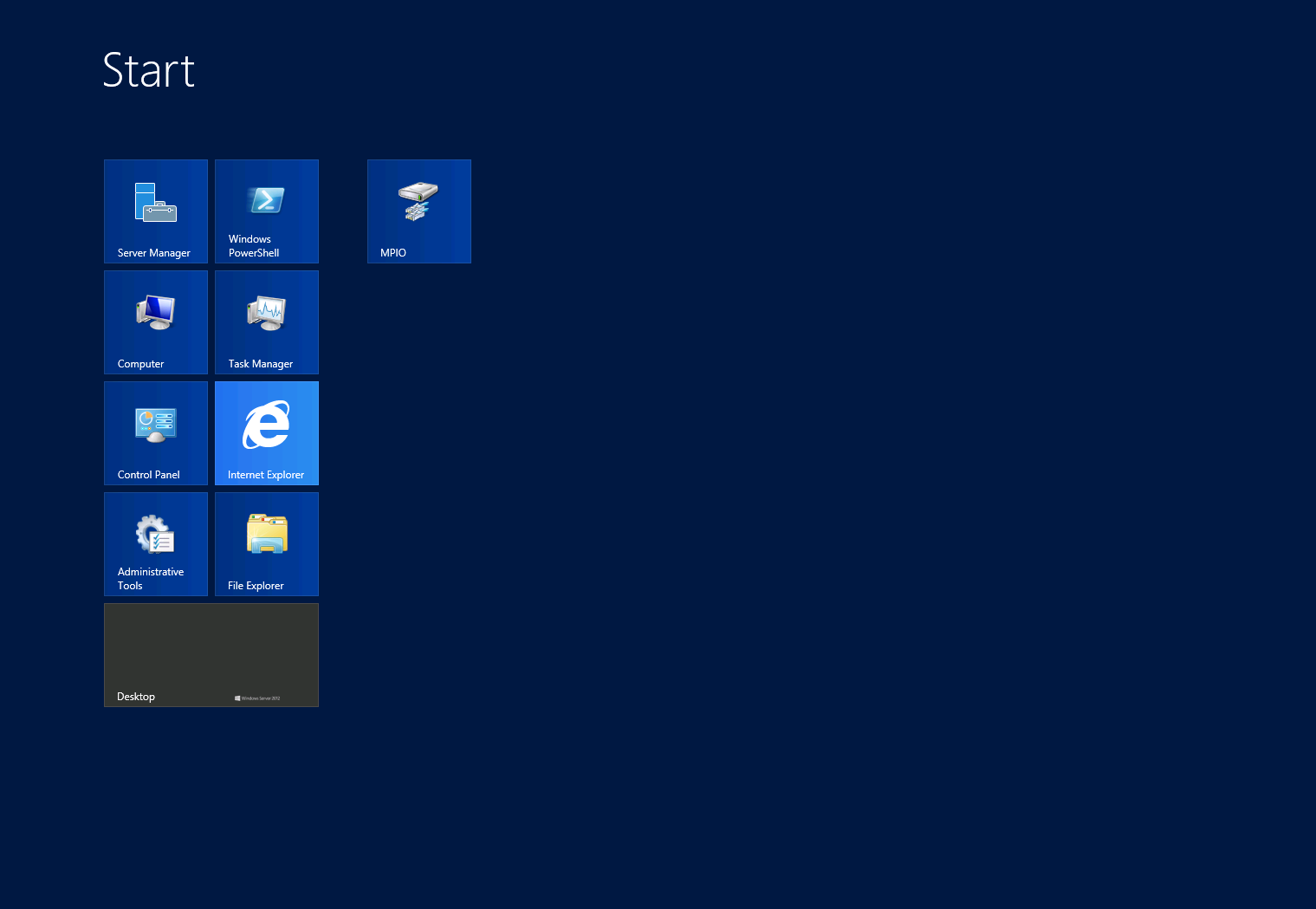 Microsoft Windows Server 2012 - Multipath IO Configuration - 11