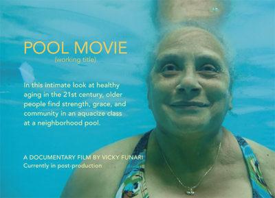 Pool Movie Postcard