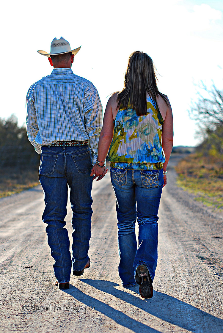 John & Shanna's Country Engagement Session
