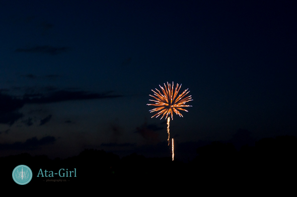 Fireworks from a Wedding Photographer