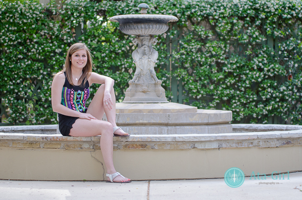 Allison's Sunset Station Senior Session