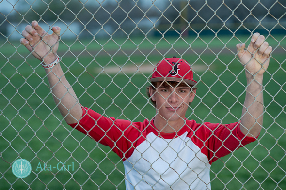 Justin's Sporty Senior Session