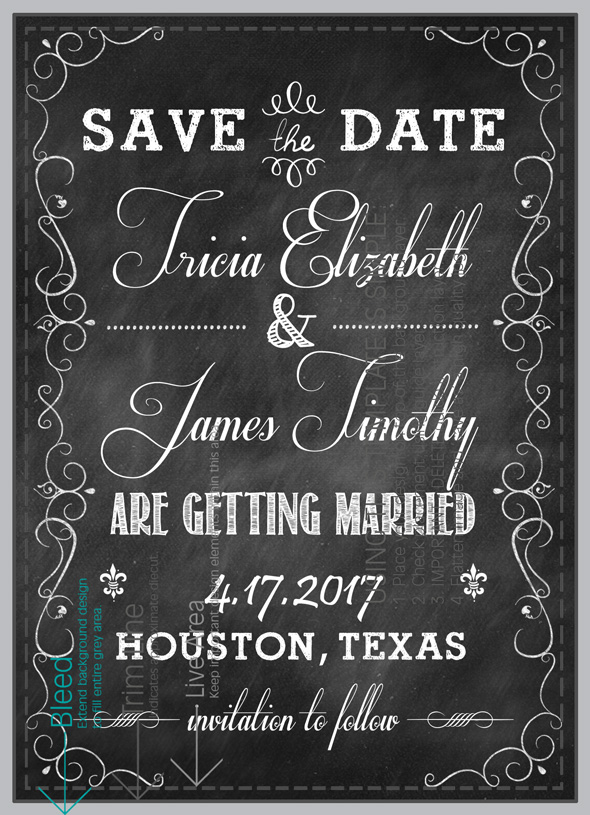 Mistakes for Save-the-Dates