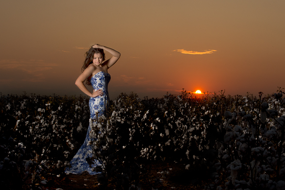Emily's Cotton Field Session