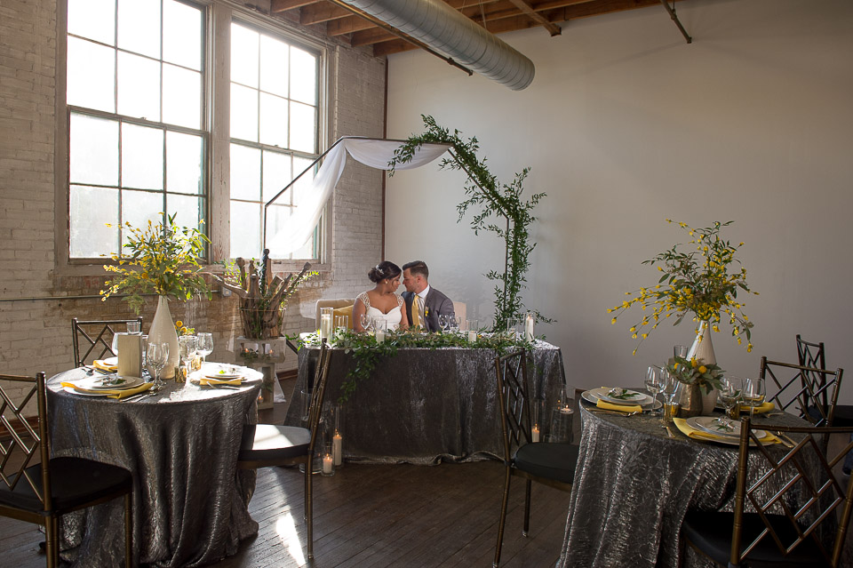 Industrial Glam Wedding