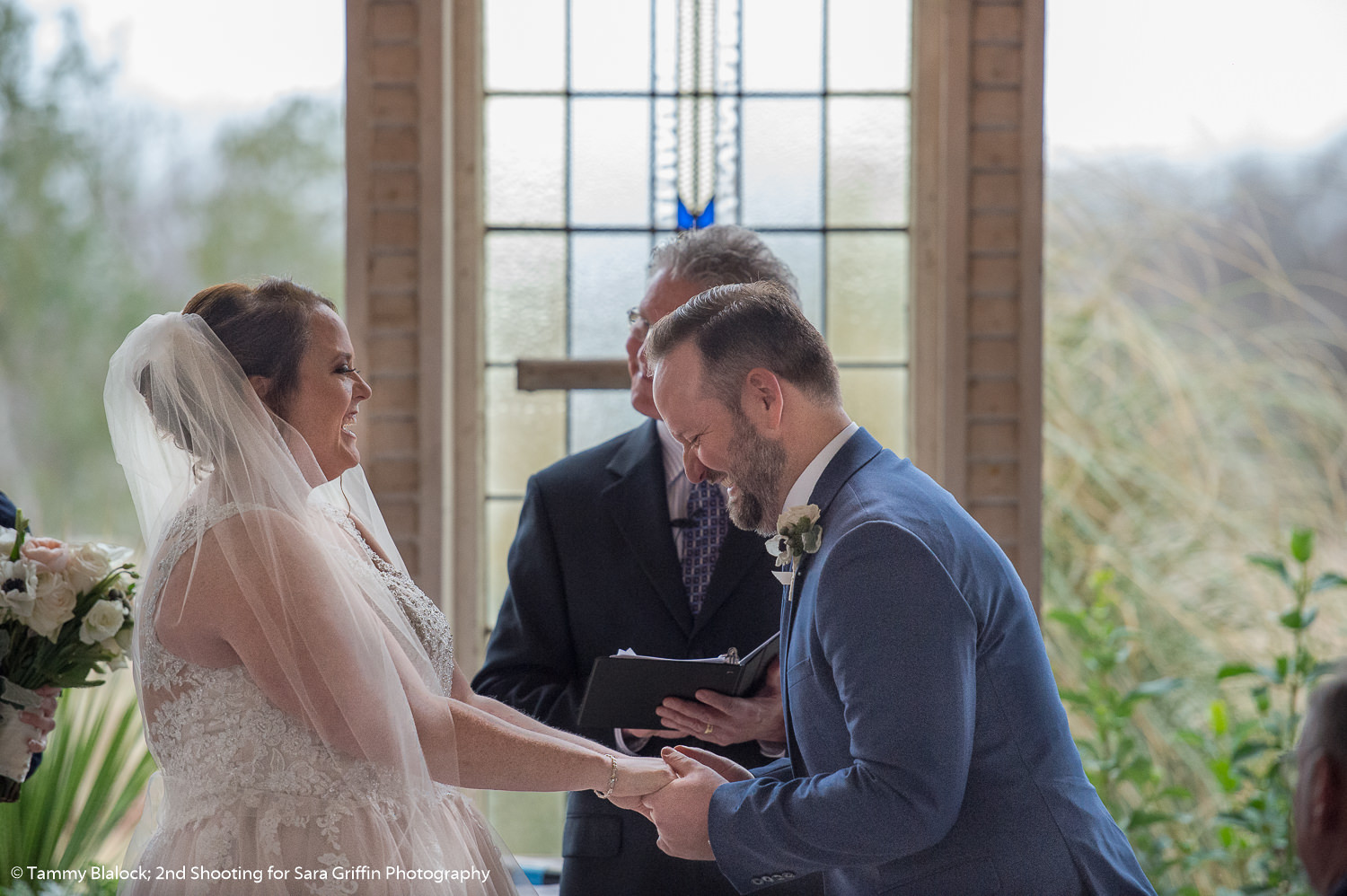 this is an image of the couple reciting their vows during their gruene estate wedding in new braunfels texas hill country wedding by san antonio wedding photographers _4S10011
