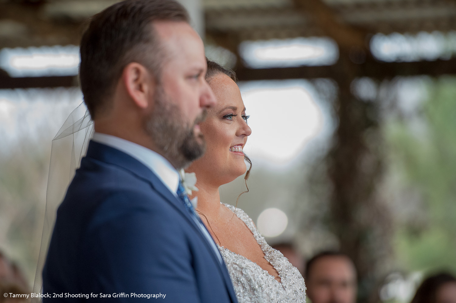 this is an image of a bride and groom during their wedding ceremony at gruene estate wedding in new braunfels texas hill country wedding by san antonio wedding photographers _4S10011