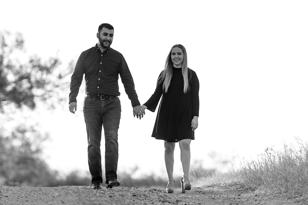 Mikaela & Jonathan's Country Engagement Session