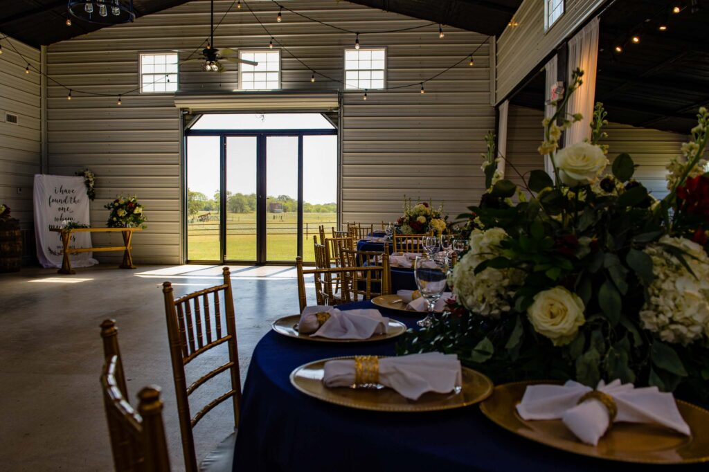 looking out the window of the barn at the cirlcle j ranch, a wedding venue in von ormy, texas