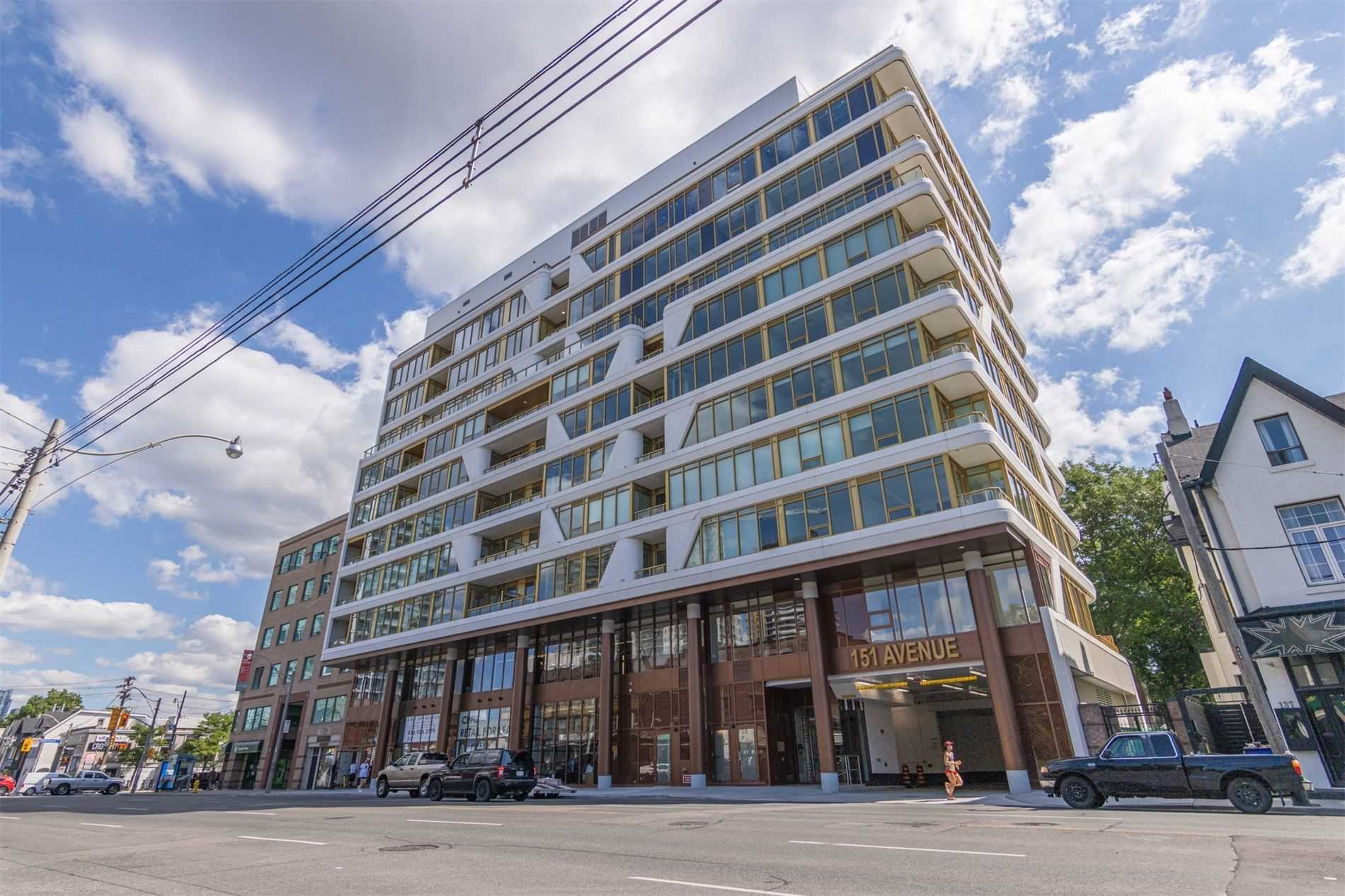 Condo Building in Yorkville, Toronto