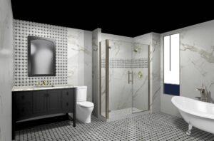 the bathroom floor matters