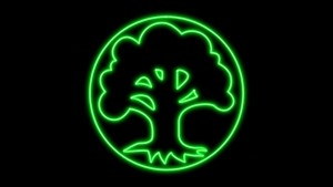 Visit Morgan R Lewis at Deviant Art http://morganrlewis.deviantart.com/art/Magic-The-Gathering-Green-Mana-Symbol-Neon-WP-440559626