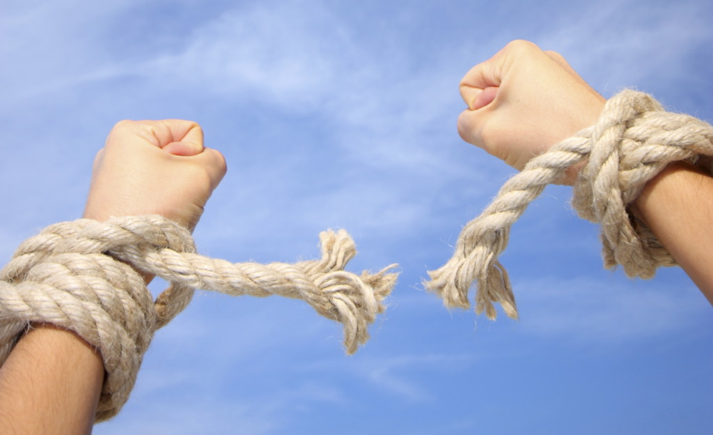 Lean into the power of conflict and break through the ropes that bind you and  here's why…
