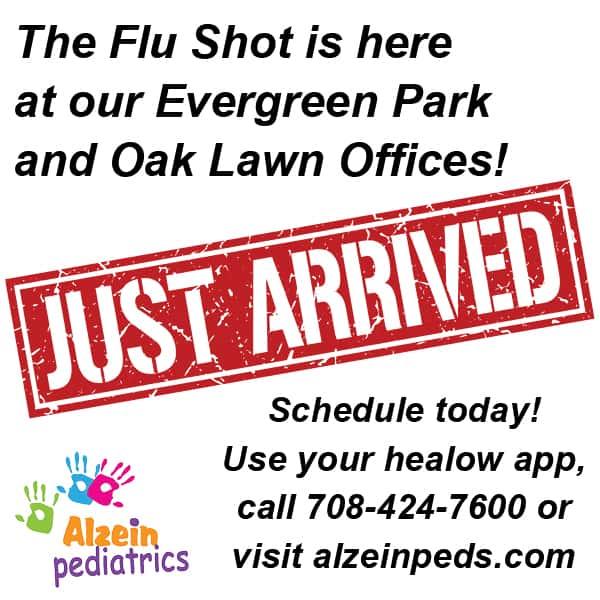 Alzein flu shot