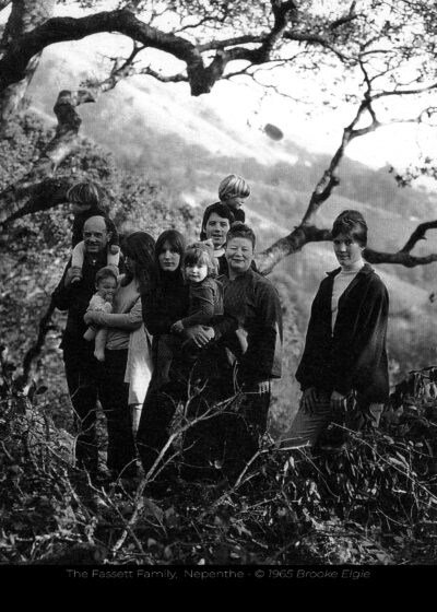 Fassett Family at Nepenthe, 1965