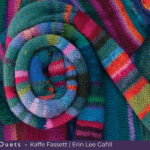 Striped Sweater and Scarf by Erin Lee Gafill