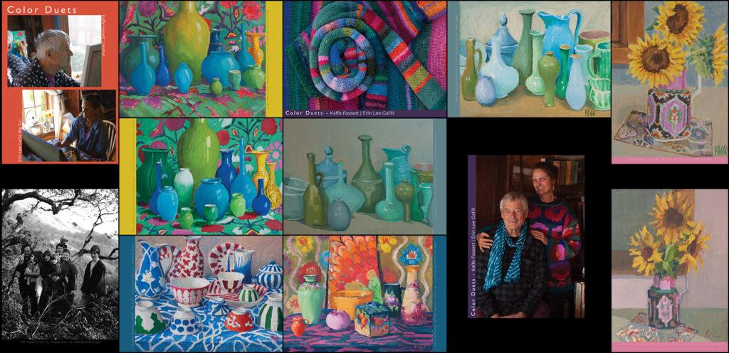 Color Duets Postcard Set