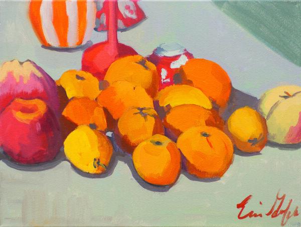 Orange on Grey by Erin Lee Gafill