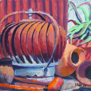 Rust on Rust by Kaffe Fassett