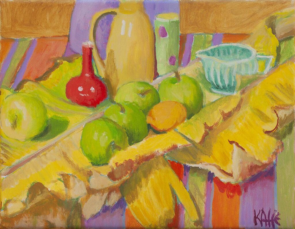 Banana Leaves by Kaffe Fassett