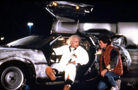 Doc's time machine would be worth a lot of money today.