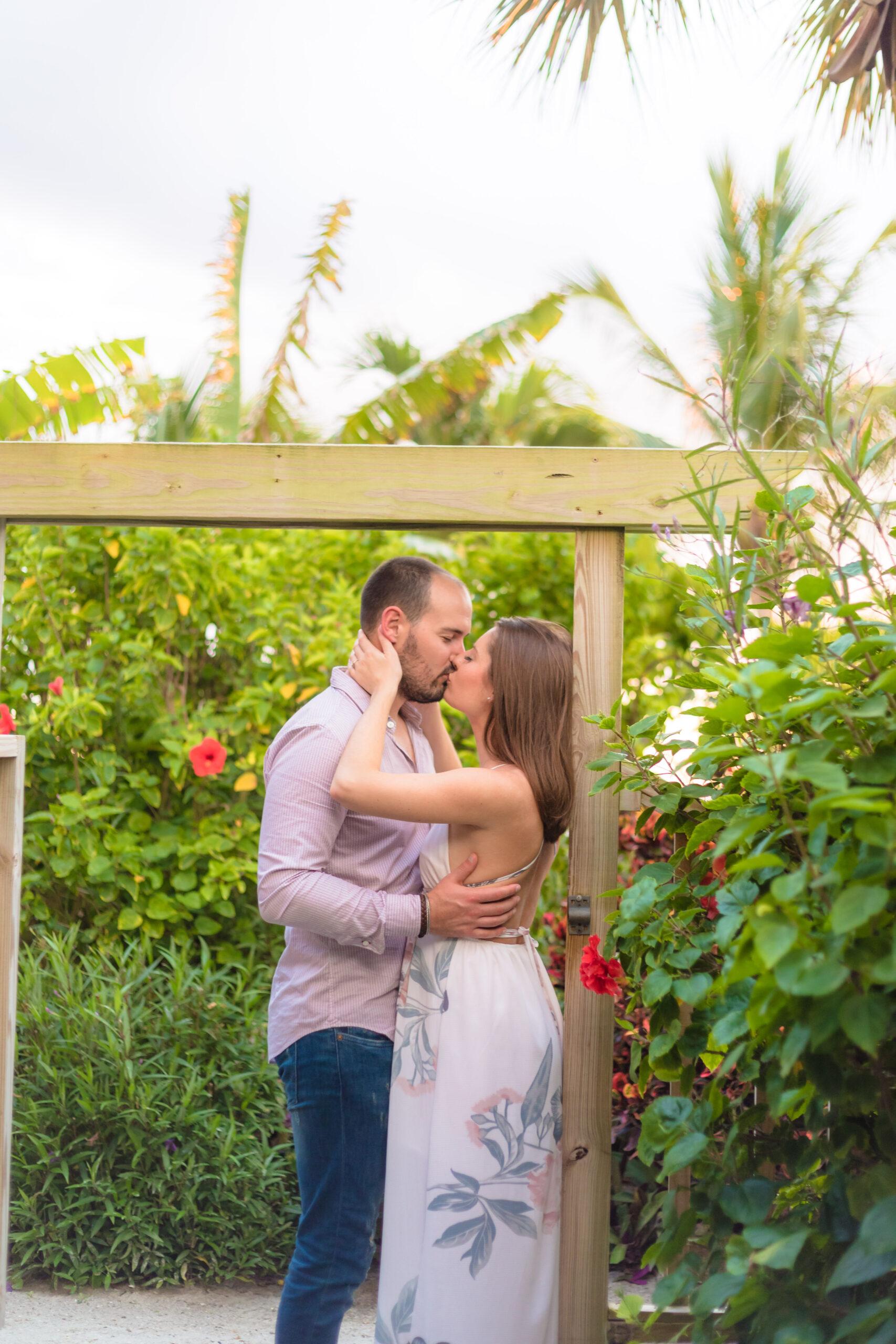 engagement portrait session for a wedding