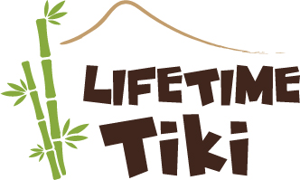 Lifetime Tiki logo - Full Color