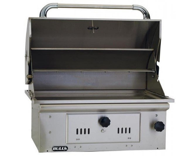 PIC - BULL GRILL BISON CHARCOAL