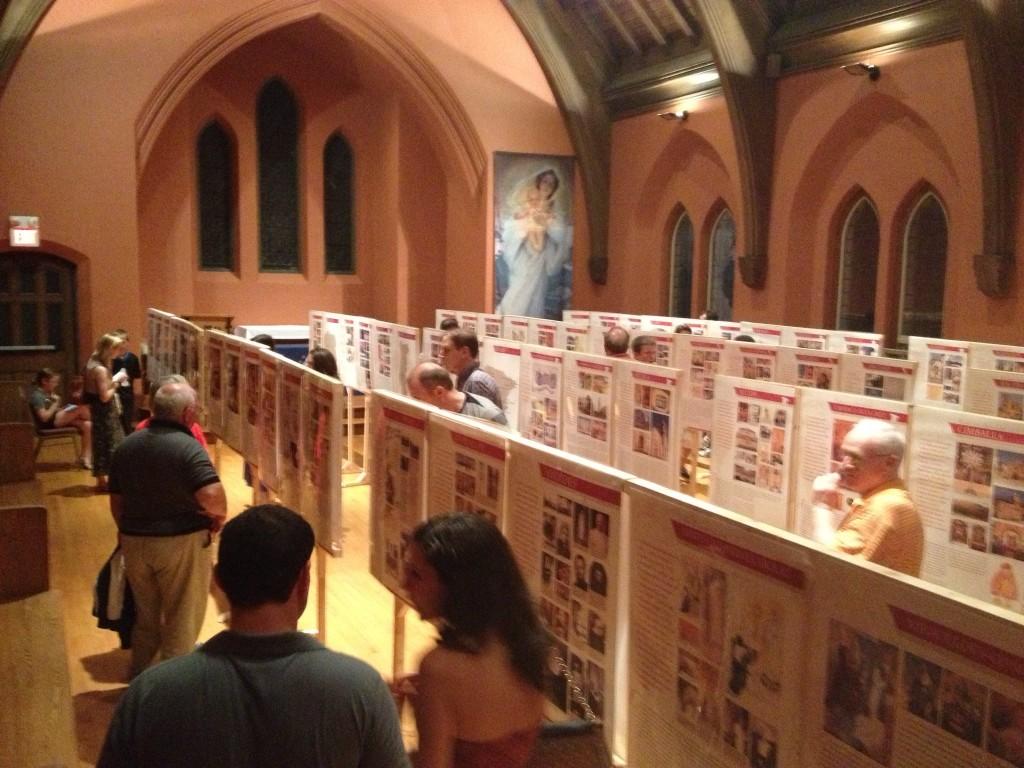 Vatican International Exhibit of Eucharistic Miracles