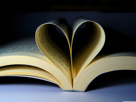 book-heart-love