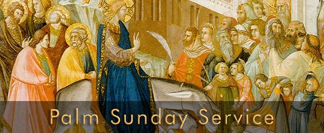 Plam Sunday Service