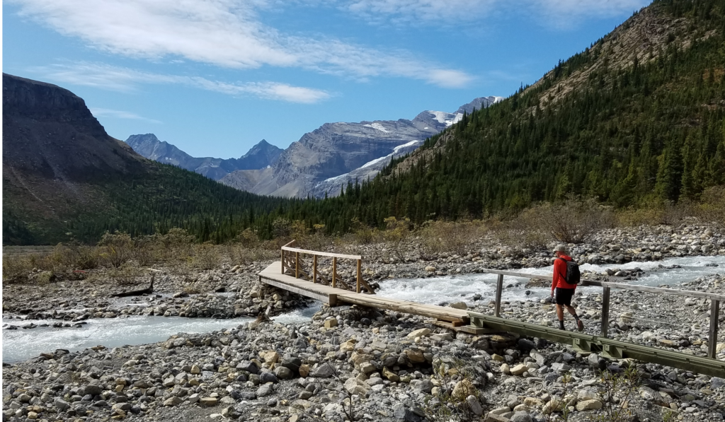 Hiking near Valemount