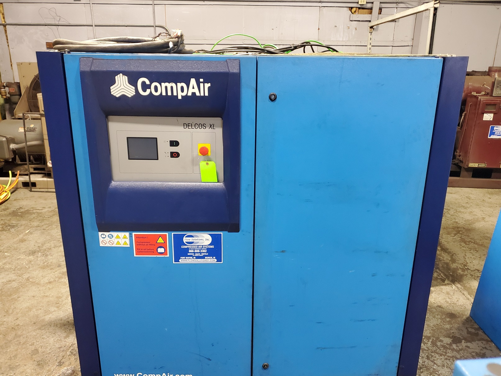 Compair XL Used Equipment Photo Flow Solutions
