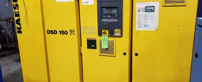 Kaeser DSD 150 Used Equipment Flow Solutions