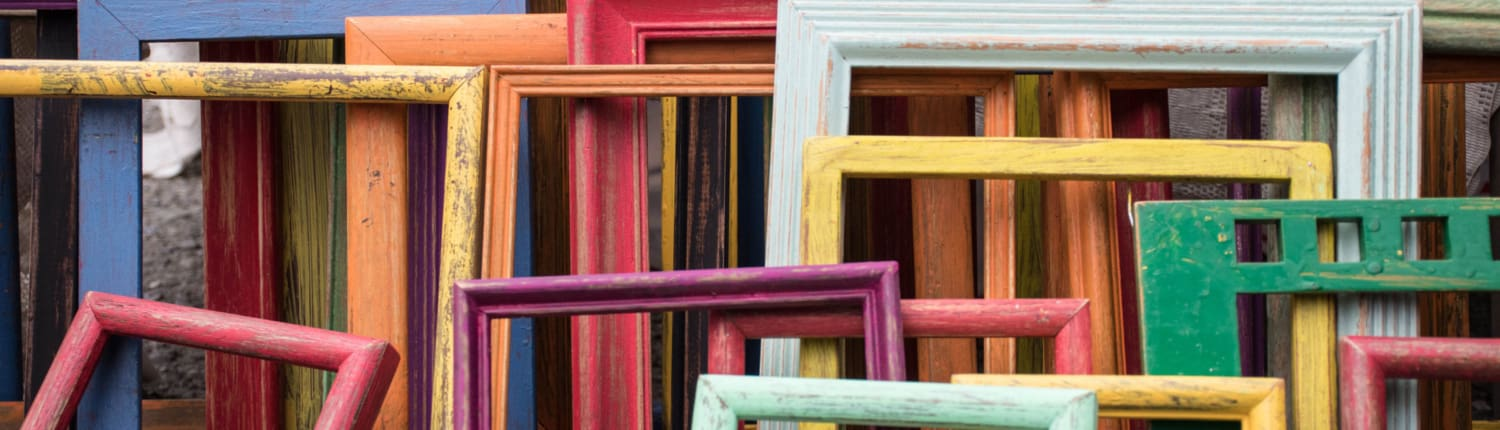 artist frames for paintings staked