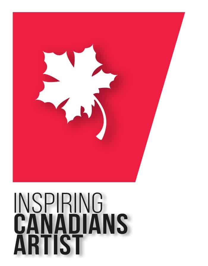 Inspiring Canadians artist award