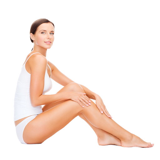 four small areas laser hair removal